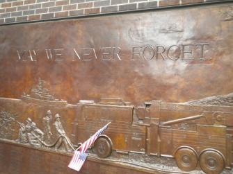 APRENDÍ QUE:  Aprendi que la unidad y el coraje puede mas que la maldad, aprendi que las tragedias traen union. (Zona Cero, New York, NY)  NEW YORK, UNITED STATES