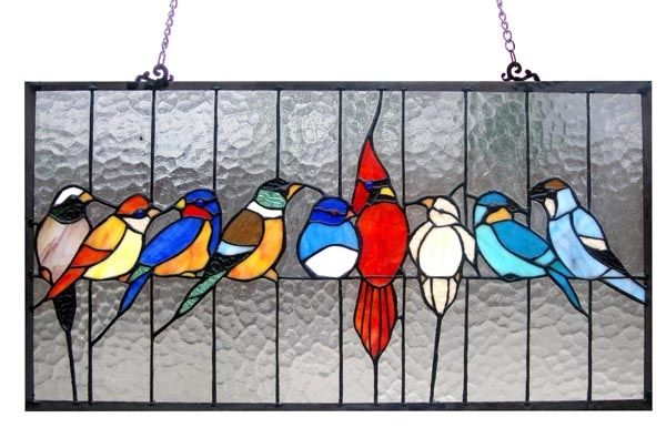 stained glass #birds                                                                                                                                                                                 More