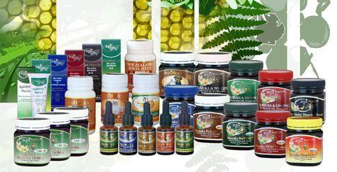 Al onze Manuka Honing producten op een rij. Nieuwsgierig ?? Kijk eens op www.manuka-holland.nl of www.manuka-honing-holland.nl