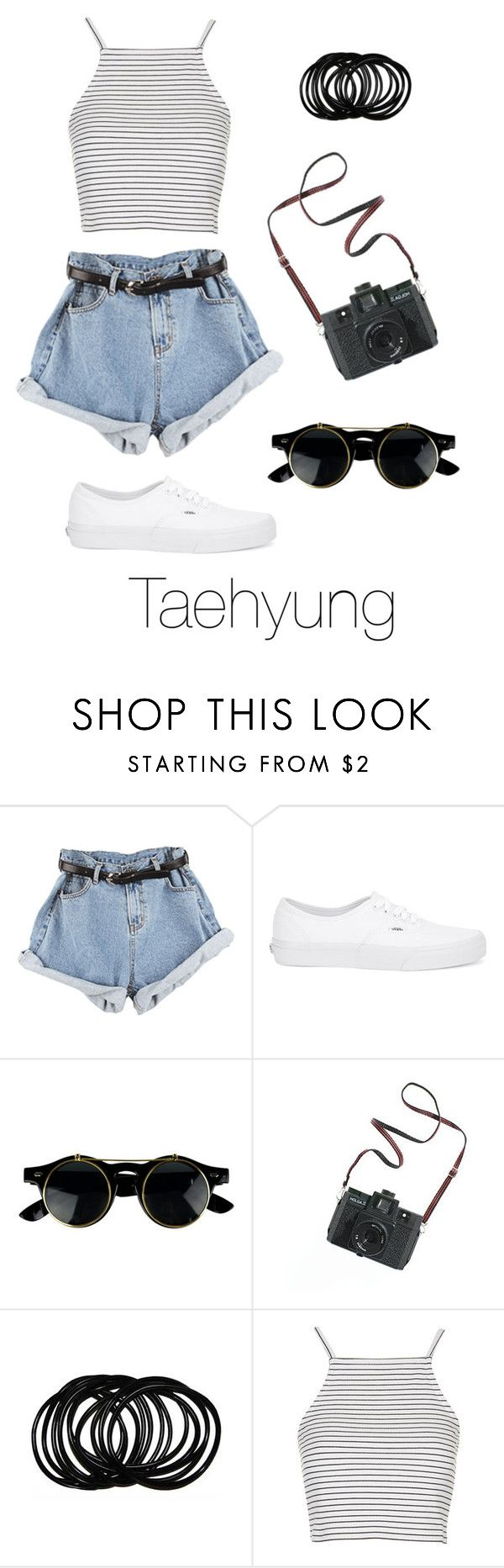 """Amusement Park with Taehyung"" by btsoutfits ❤ liked on Polyvore featuring Vans, Madewell and Topshop"