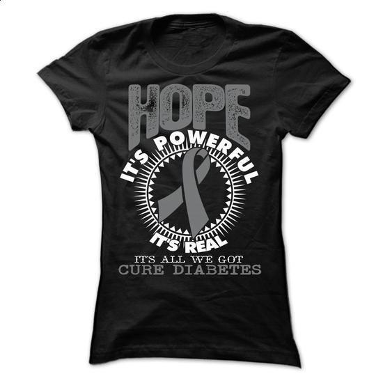 Hope1 - Diabetes - #polo t shirts #printed t shirts. ORDER NOW => https://www.sunfrog.com/LifeStyle/Hope1--Diabetes-Ladies.html?60505