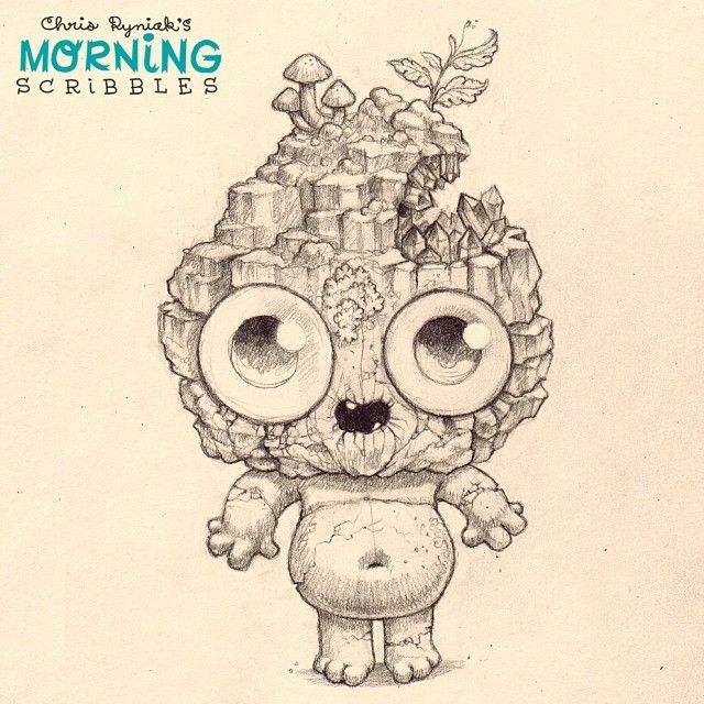 Geo: the boy with Amethyst brains.  #morningscribbles