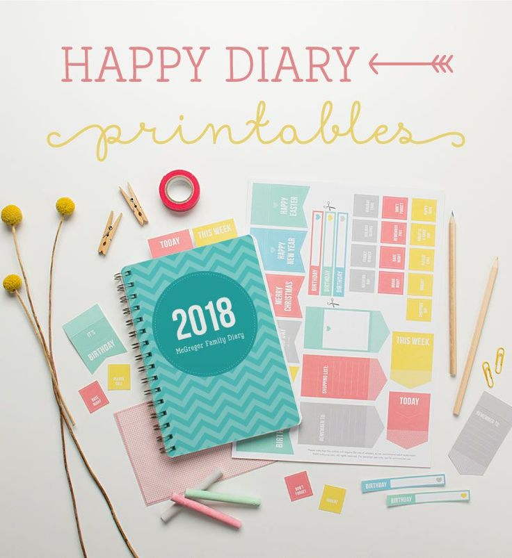 Free Happy Home Planner Printables {subscription required}