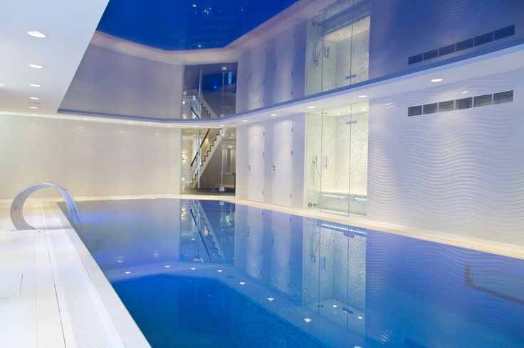 Hunter & Belle Interiors , Alderley Edge. Fresh Contemporary swimming pool