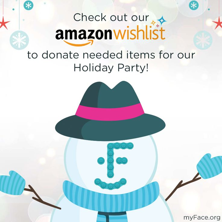Hey myFriends, take a look at our Wishlist on #Amazon for gifts that will go to our children at our annual #Holiday Party!