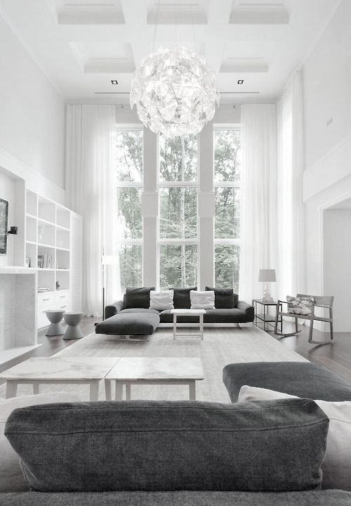 Greys #interior #design #white #ceilings
