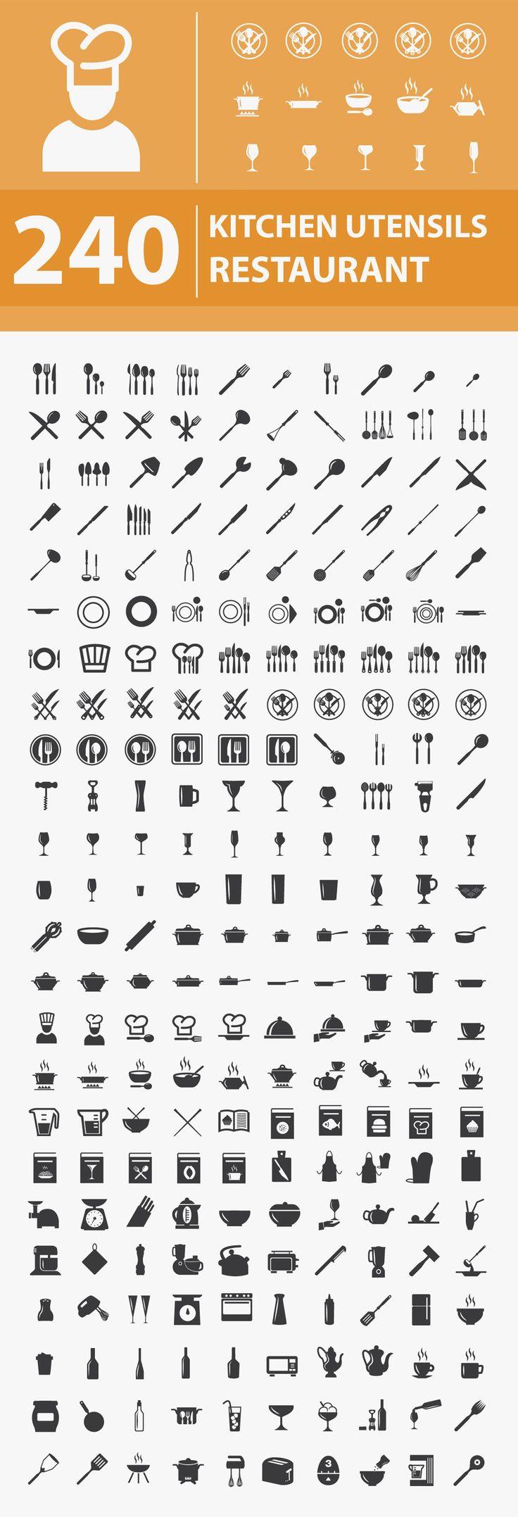 Free Kitchen / Restaurant Icons