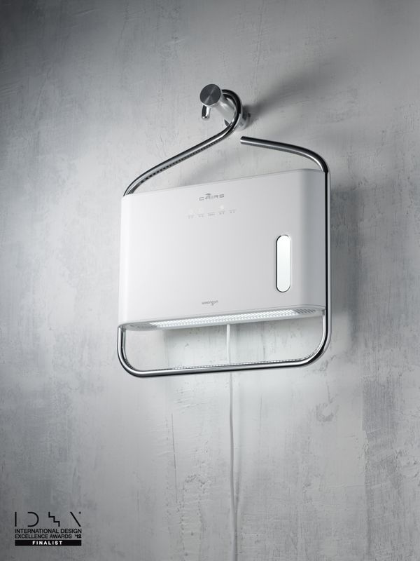 C-hanger by Dae-hoo Kim, via Behance. A dehumidifier for the closet.