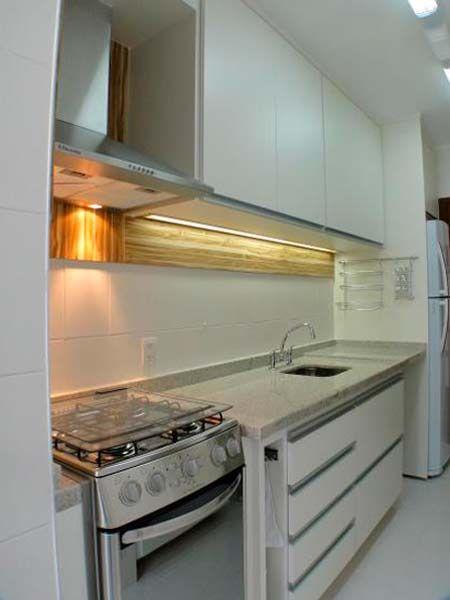 Cozinhas pequenas e simples para casas e apartamentos pequenos