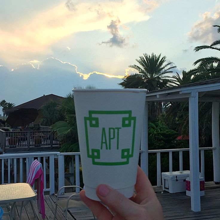 oh what a beautiful morning! extra thick cups available with lids!!! #betteratthebeach #gogojuice #cuterwithamonogram #lovelyday #monogrammedcup #meandredesign