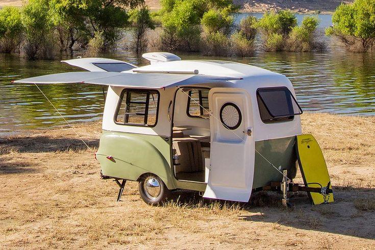 HC1 Travel Trailer - Happier Camper in 2020   Lightweight ...