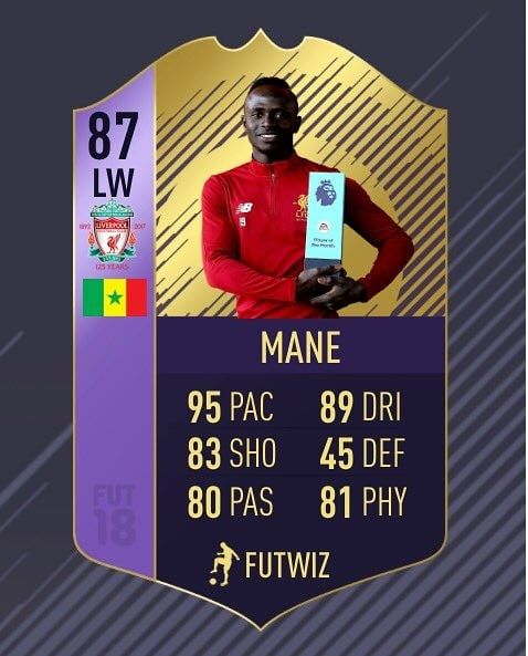 Fifa 18 #mane !  #fifa #fifa18 #newlook #fifa17 #beautiful #games234  Follow me  Like  Comment    ______________________________ #videogames #games #gamer #tagsforlikes #gaming #instagamer #playinggames #online #photooftheday #onlinegaming #videogameaddict #instagame #instagood #gamestagram #gamergirl #gamin #video #amazing #love #giveaway