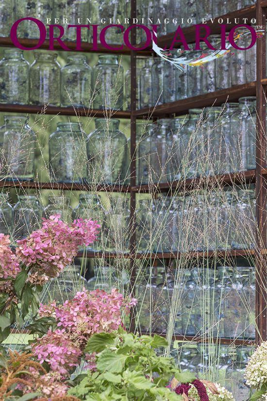 Nel Parco... un dettaglio dell'installazione 'Uniti da un filo verde' di Silvia Ghirelli per lo spazio All'Origine . Vincitore del Premio 'Miglior allestimento'. Fotografia di Dario Fusaro. Scattata durante e per Orticolario 2015