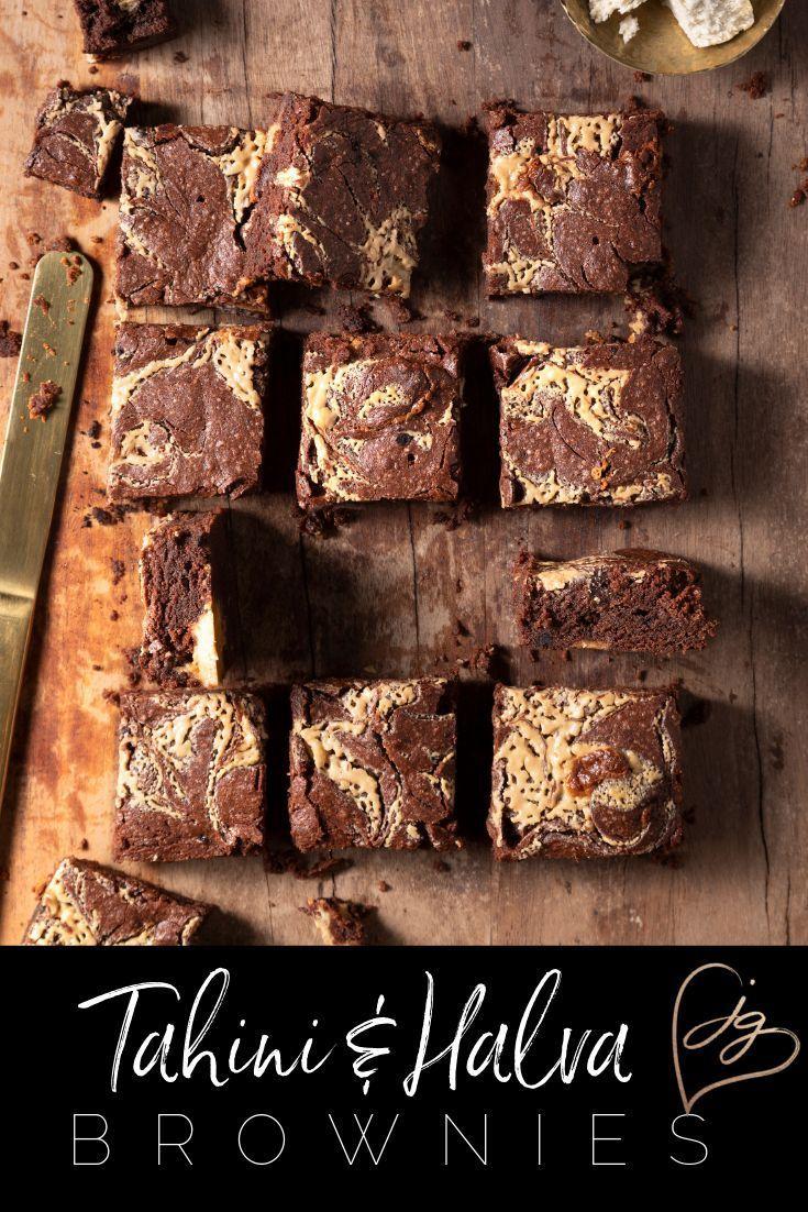Tahini And Halva Brownies Recipe In 2019 Israeli