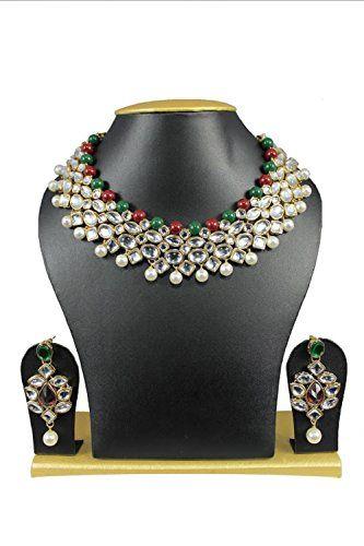 Stunning Red & Green Pearls Indian Bollywood Wedding Wear... https://www.amazon.com/dp/B01MUDLRN6/ref=cm_sw_r_pi_dp_x_mcEHybBQ3WRPH