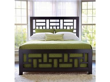 lattice bed this lattice bed presents style with comfort it has geometric shapes lattice work modern chrome