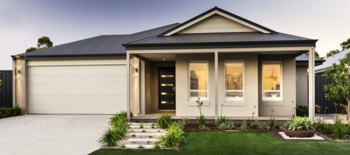 Front Elevation Of Verandah : Best display homes single storey perth images on
