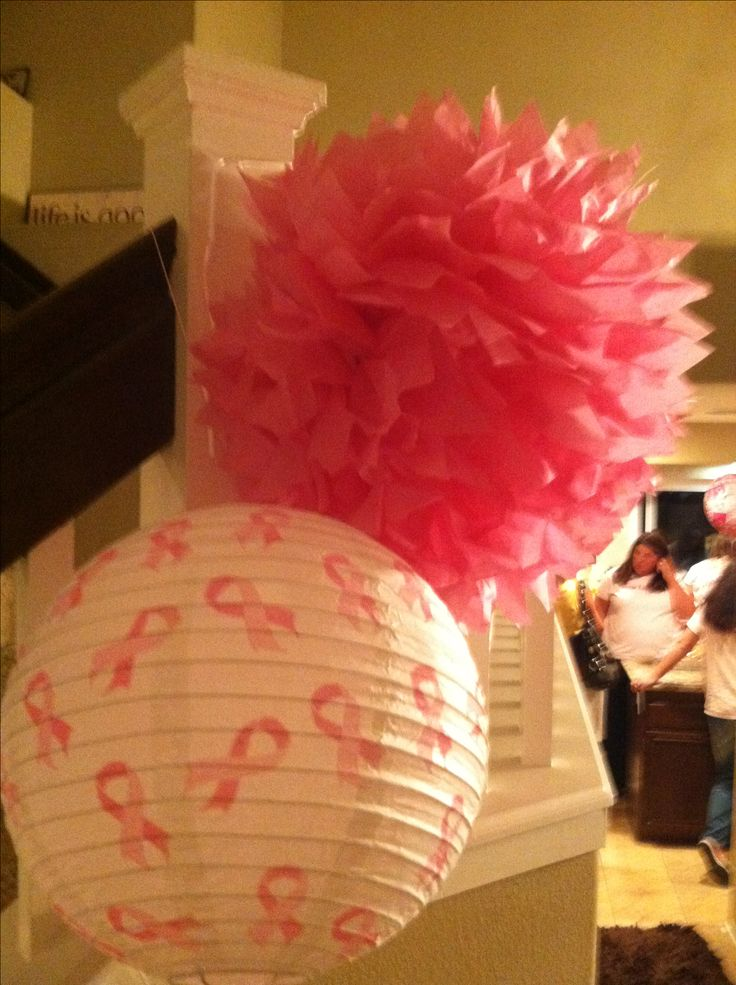 Breast Cancer Party Decor Ideas | StandUp2Cancer ...