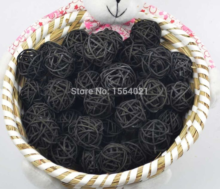 Find More Christmas Decoration Supplies Information about Free shipping 3cm black Rattan balls Christmas decorative wicker balls indoor rattan balls 100pcs/lot,High Quality ball seed,China ball Suppliers, Cheap ball telescope from YUGUO INDUSTRY AND TRADE LIMITED on Aliexpress.com