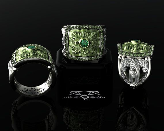 Hey, I found this really awesome Etsy listing at https://www.etsy.com/listing/188678421/1946-green-gold-and-palladium-diamond