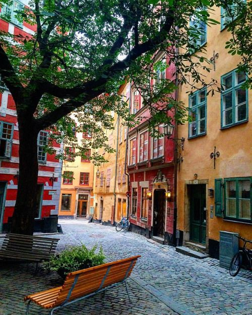Been there! Gamla Stan Sweden                                                                                                                                                                                 More