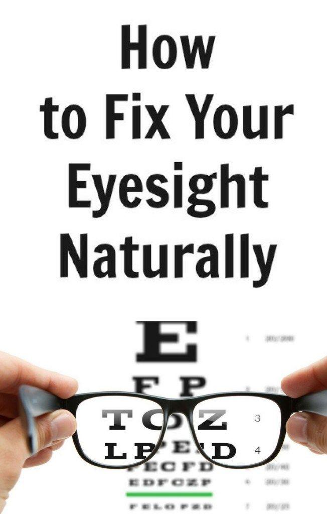 Как улучшить свое зрение естественно ... и быстро! - Здоровье 4