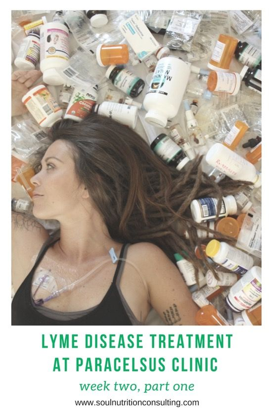 Lyme Disease Treatment diaries from Paracelsus Clinic in Switzerland