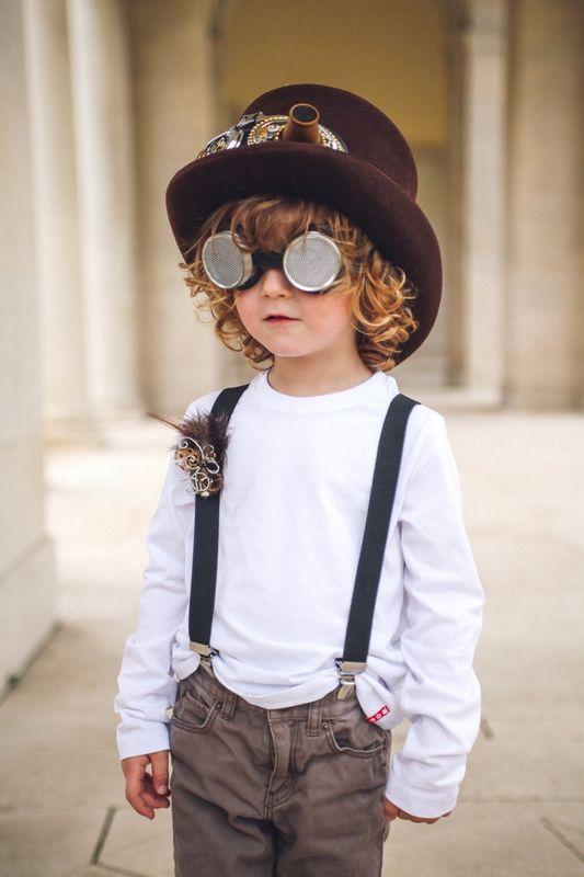 Accessoire steampunk fait sur mesure par mandzou enfant, steampunk, goggle