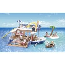 Sylvanian Families - Seaside Cruiser Boat House #EntropyWishList #PintoWin