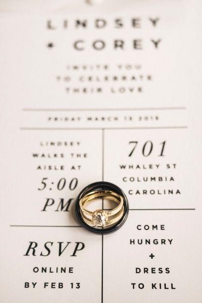 Simple and pretty: http://www.stylemepretty.com/2015/06/26/modern-fresh-industrial-south-carolina-wedding/ | Photography: Finch & Farrow - http://finchandfarrow.com/