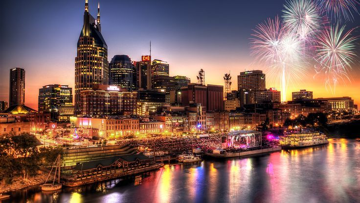 nashville 4th of july | Best Fourth of July fireworks in the USA 2013. Nashville Tennessee ...