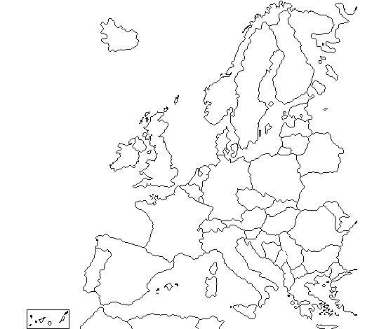 Europa para colorear - Búsqueda con Google