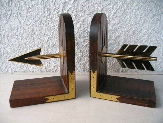 Arrow bookends.