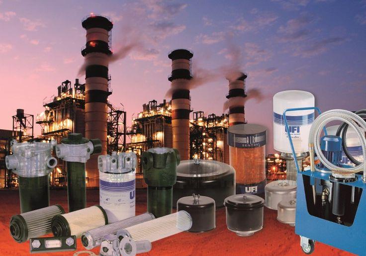 Filterprogramma voor het totale hydraulieksysteem.