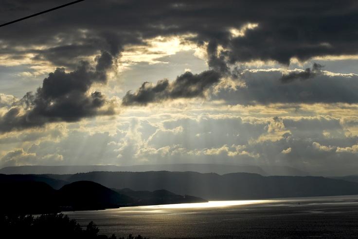 Skies over Bay of Islands