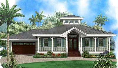 Florida Beach House with Cupola - 66333WE | 1st Floor Master Suite, Beach, CAD Available, Florida, PDF, Southern | Architectural Designs