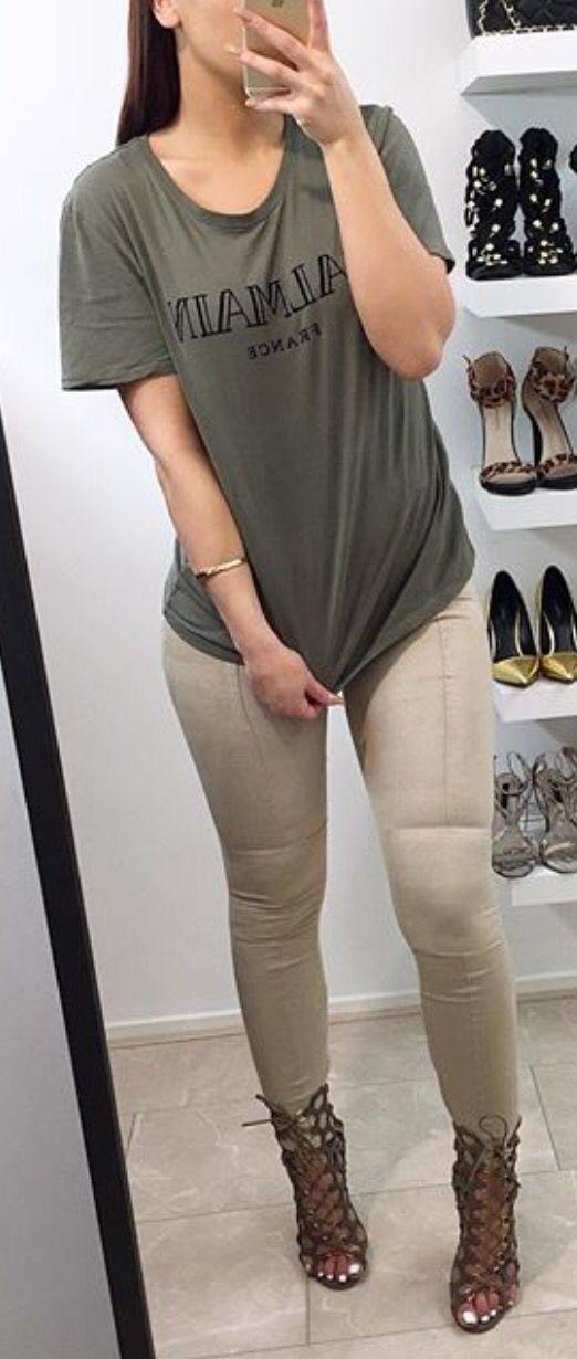 Balmain Shirt x Suede Pants
