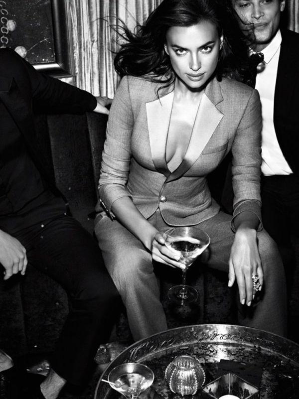 イリーナ・シェイク、今夜はハーティーパーティー★ Vogue メキシコ2014年10月号に♪ - Irina Shayk