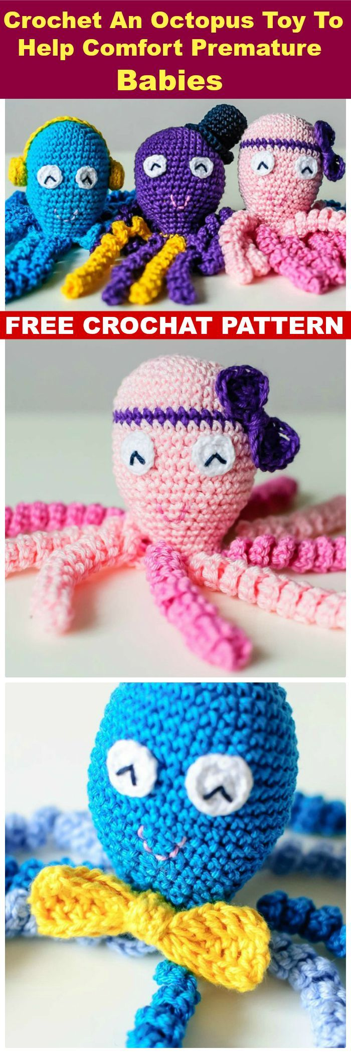 Best 25 crocheted jellyfish ideas on pinterest octopus crochet crochet jellyfish 14 free crochet patterns page 2 of 3 bankloansurffo Choice Image