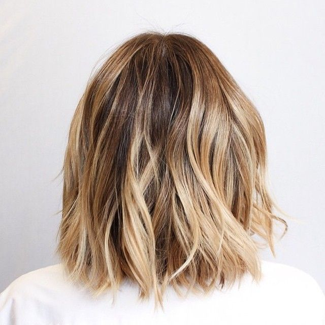 highlights for dark blonde bob - Google Search