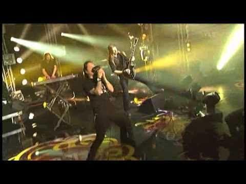 Actuación de #Amorphis en la Gala de los Premios Emma (Helsinki - Finandia 2010)