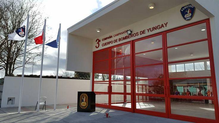 Cuartel 3 cia. de Bomberos de Yungay, Chile