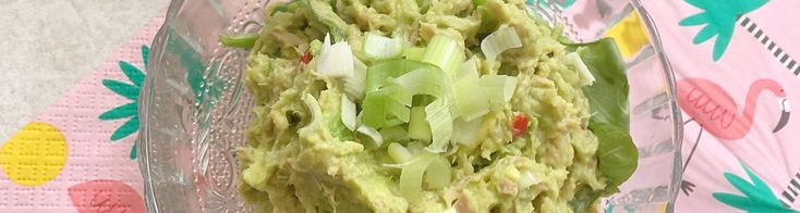 Avocado- tonijnsalade (spread)