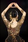 Batik, body paintings