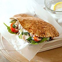 Pita met kip en tzatziki Recept | Weight Watchers Nederland