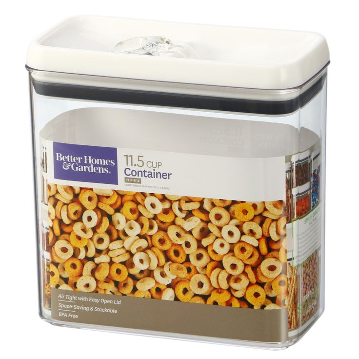 Home better homes cereal containers container