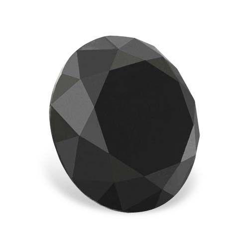 1.03 carat AAA - AAA Clarity Round Brilliant Black Color Loose Real Diamond http://www.diamondzul.com/