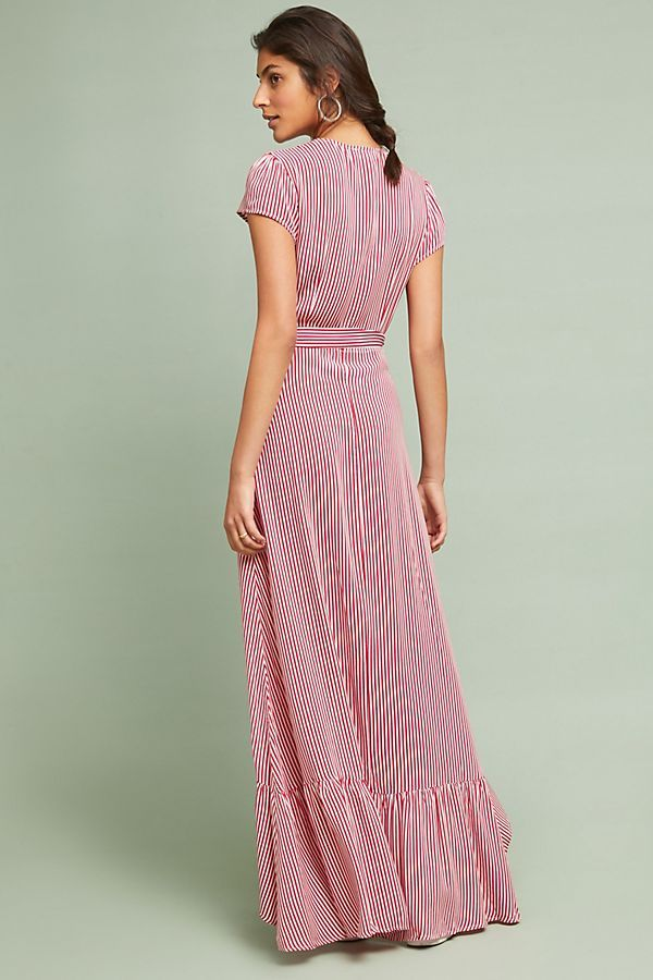 3e5f4602fe45 Culebra Maxi Wrap Dress | Fashion is my addiction | Pinterest - Maxi ...