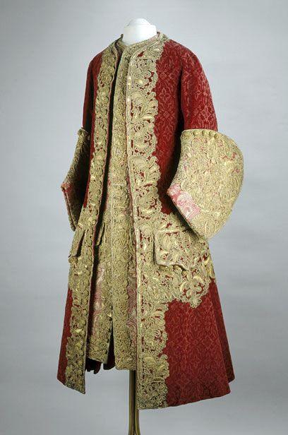 Coat and waistcoat, c. 1729, France