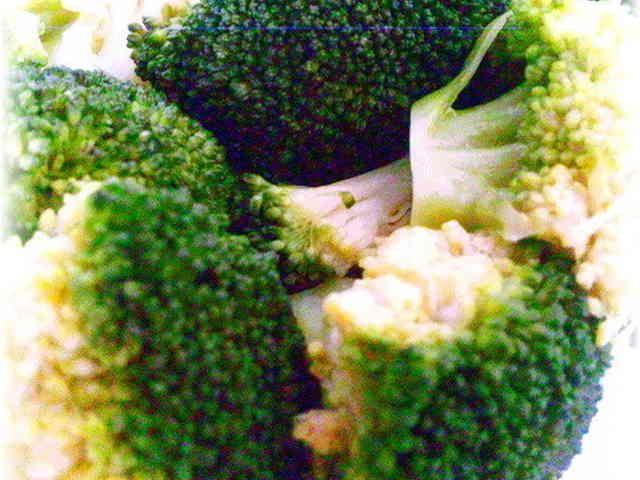 レンジで鮮やか*ブロッコリーの茹で方 by アキキッチン*aki